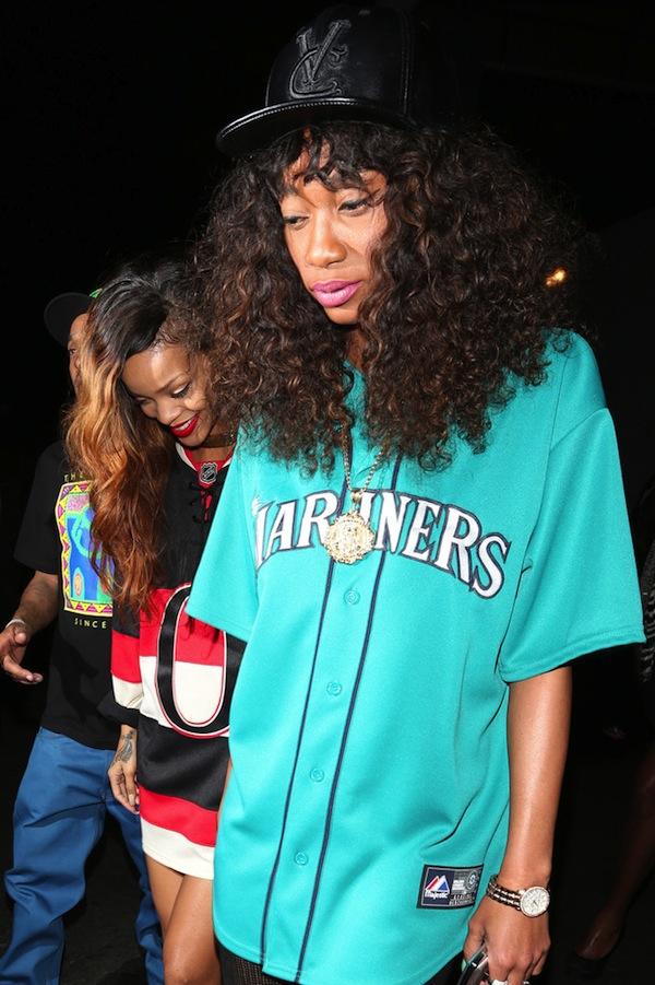 Rihanna go clubbing 09042013 9