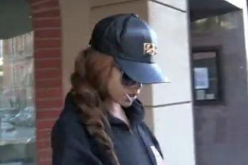 Rihanna leaving doctor