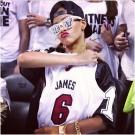 Rihanna lebron james jersey