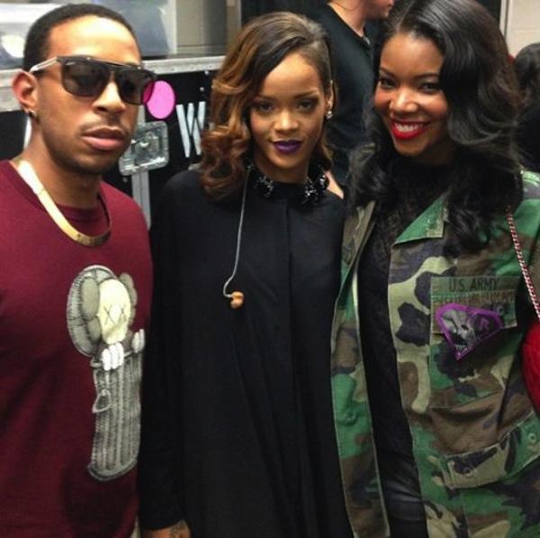 Rihanna ludacris and gabrielle union