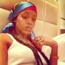 Rihanna smoke troubles away