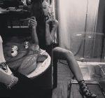 Rihanna smoking weed day