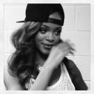 Rihanna snap back cap