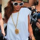 Rihanna white nyc 2