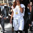 Rihanna white nyc 5
