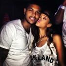 Rihanna with mystery man