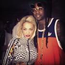 Rita Ora and 2 Chainz at coachella