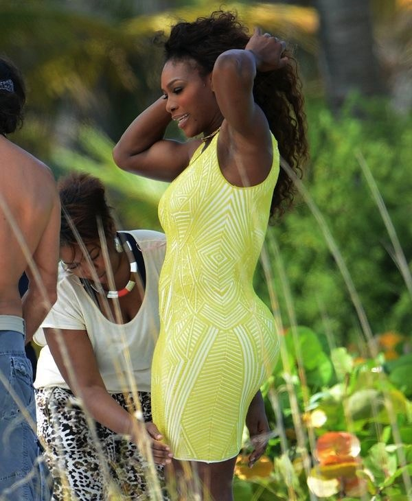 Serena Williams bikini photo shoot 4