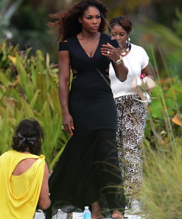 Serena Williams photo shoot 2013