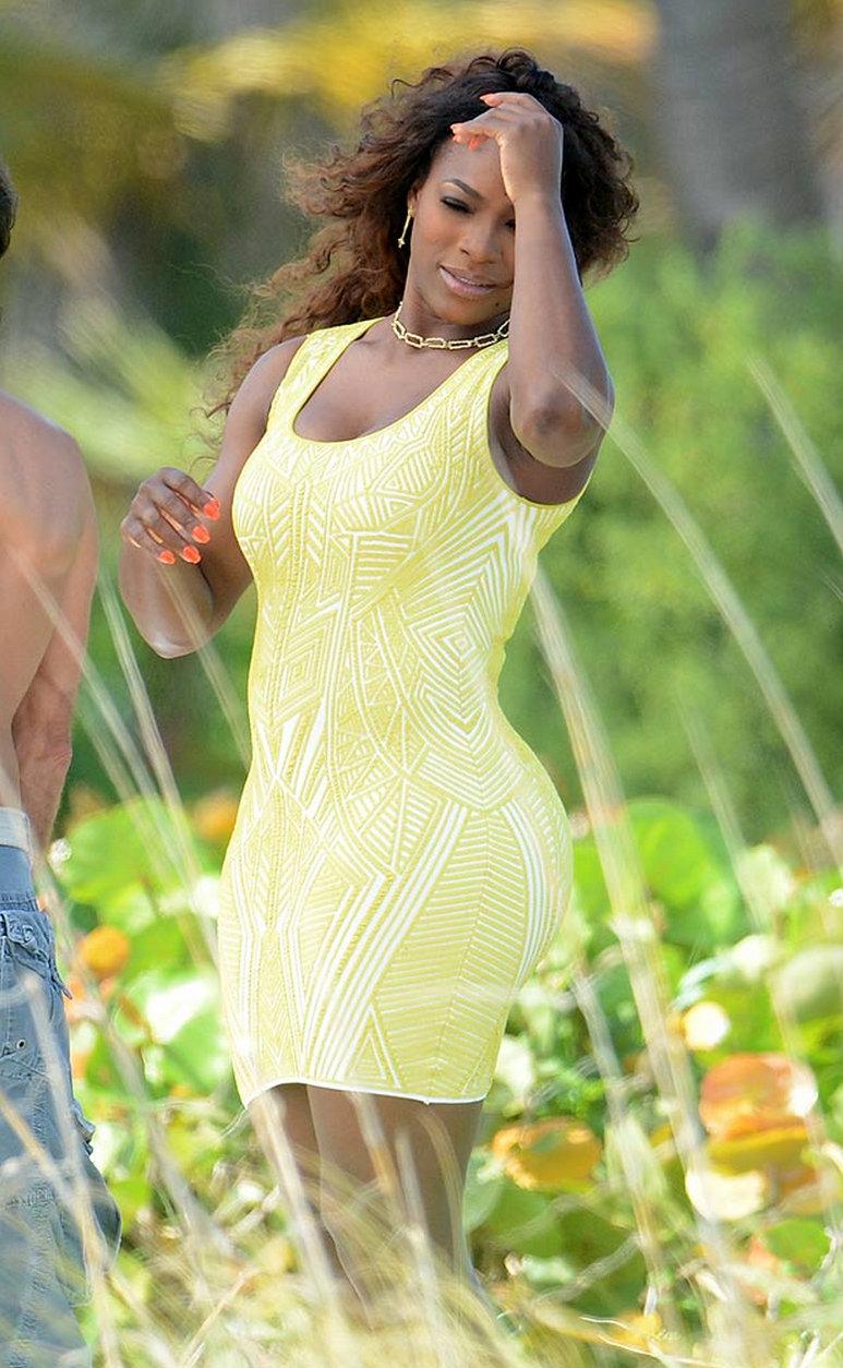 Serena Williams photo shoot 2014