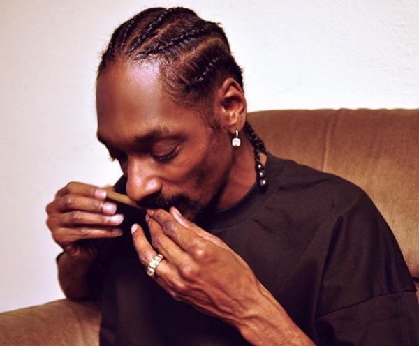 Snoop Lion Rolling Blunt