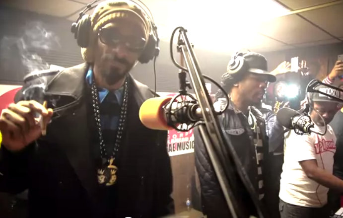 Snoop Lion and Gyptian