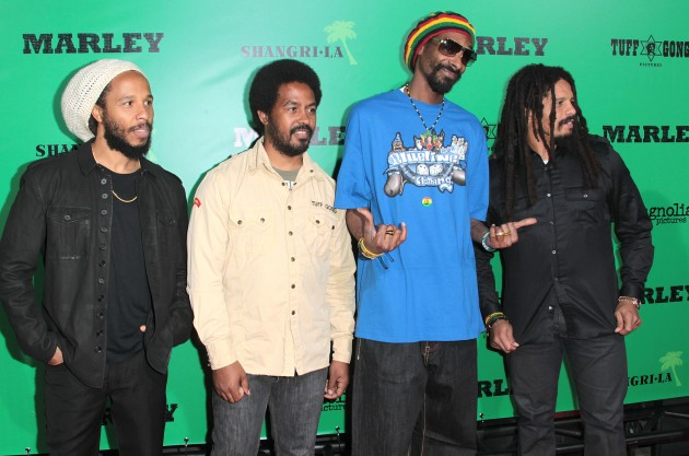 Snoop Lion marley family