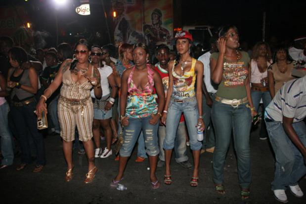 Jamaican Law Enforcement Gets Tuff On Street Dances