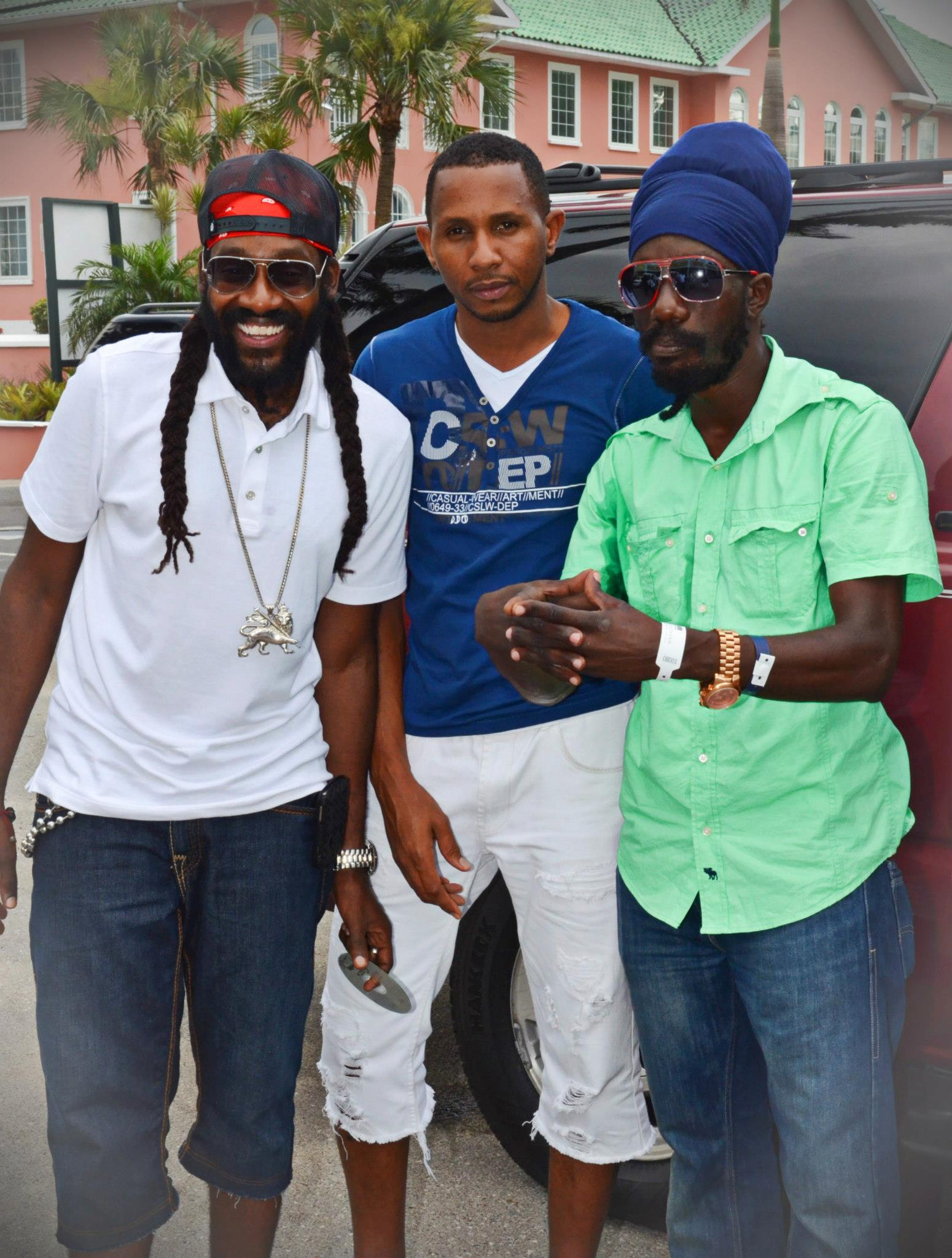 Tarrus Shane Brown and Sizzla