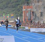 Usain Bolt Beach Race
