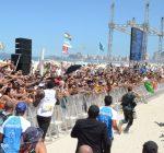 Usain Bolt Brazil beach race 1