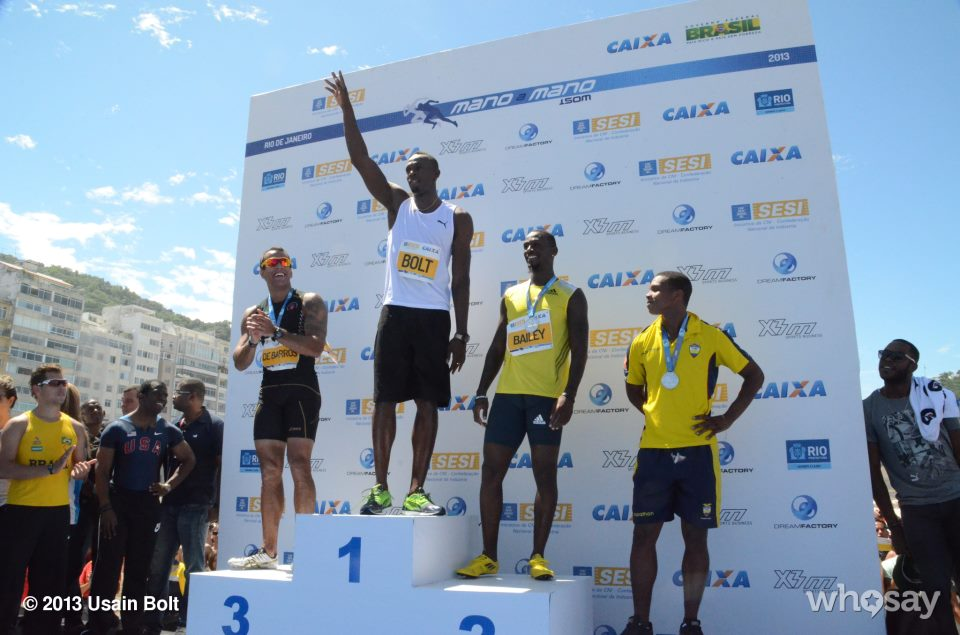 Usain Bolt Brazil beach race
