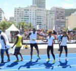 Usain Bolt in Brazil 2013