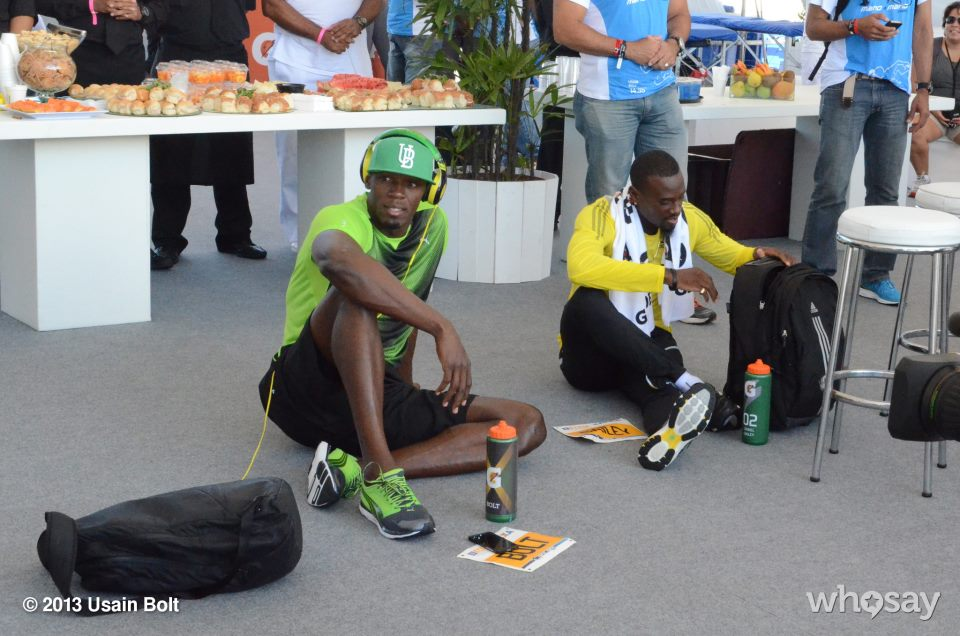 Usain Bolt in Brazil