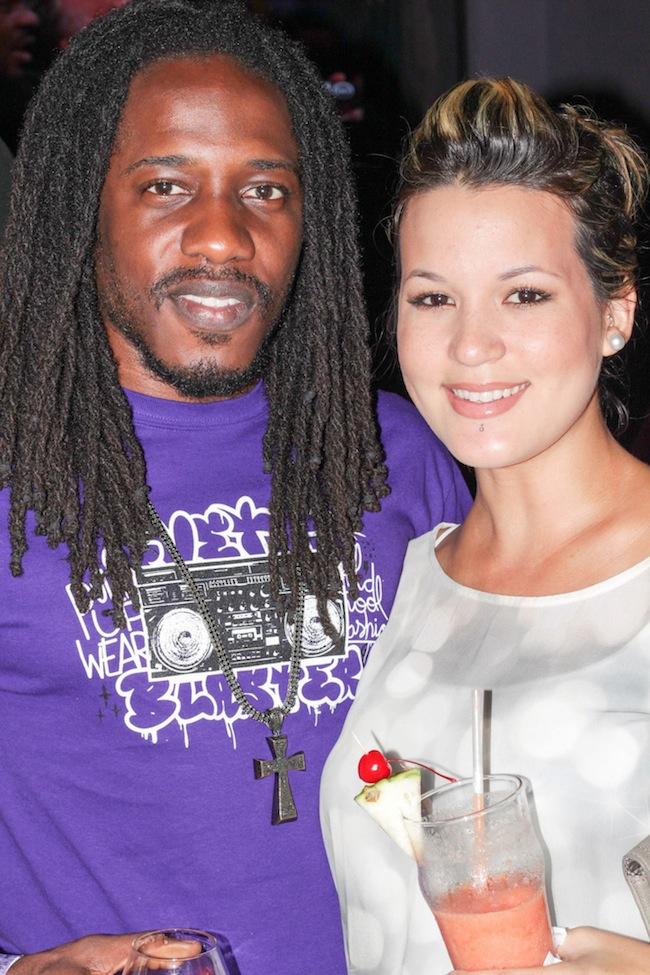 Wayne Marshall and Tami Chynn