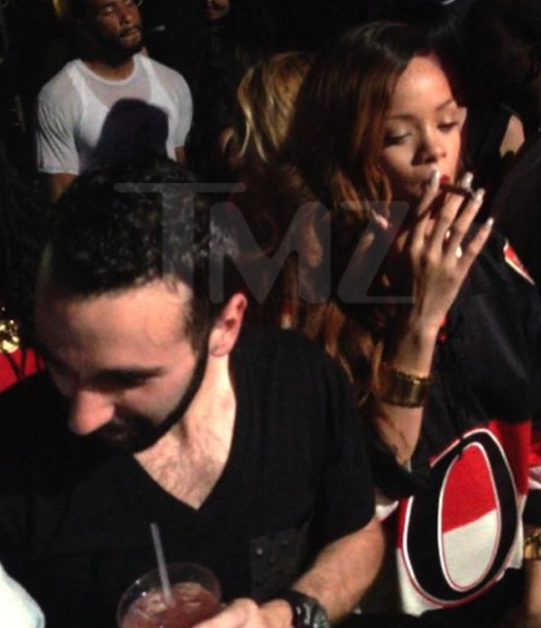 rihanna smoking club