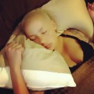 Amber Rose vegas sleeping