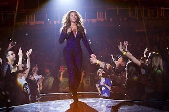 Beyonce concert pregnant