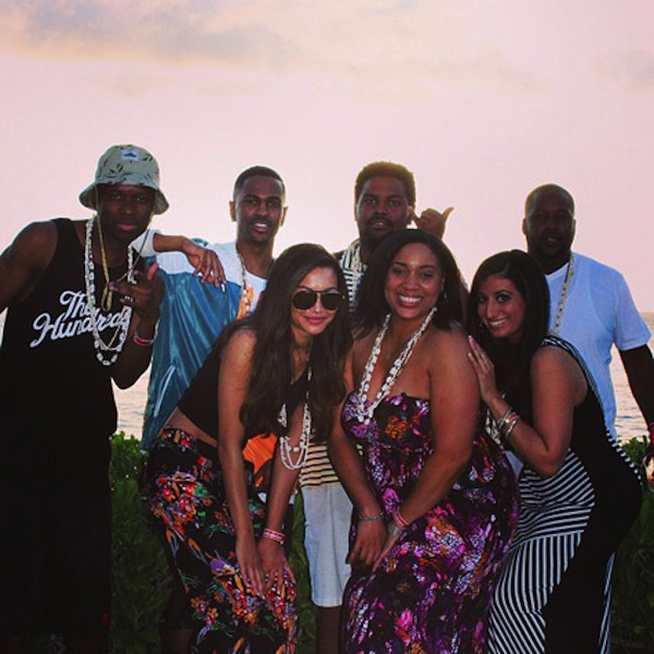 Big Sean Naya and friends