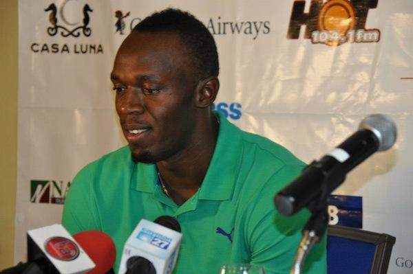 Bolt Cayman press conference