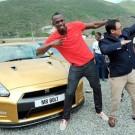 Usain Bolt Gold Nissan GT-R 2013