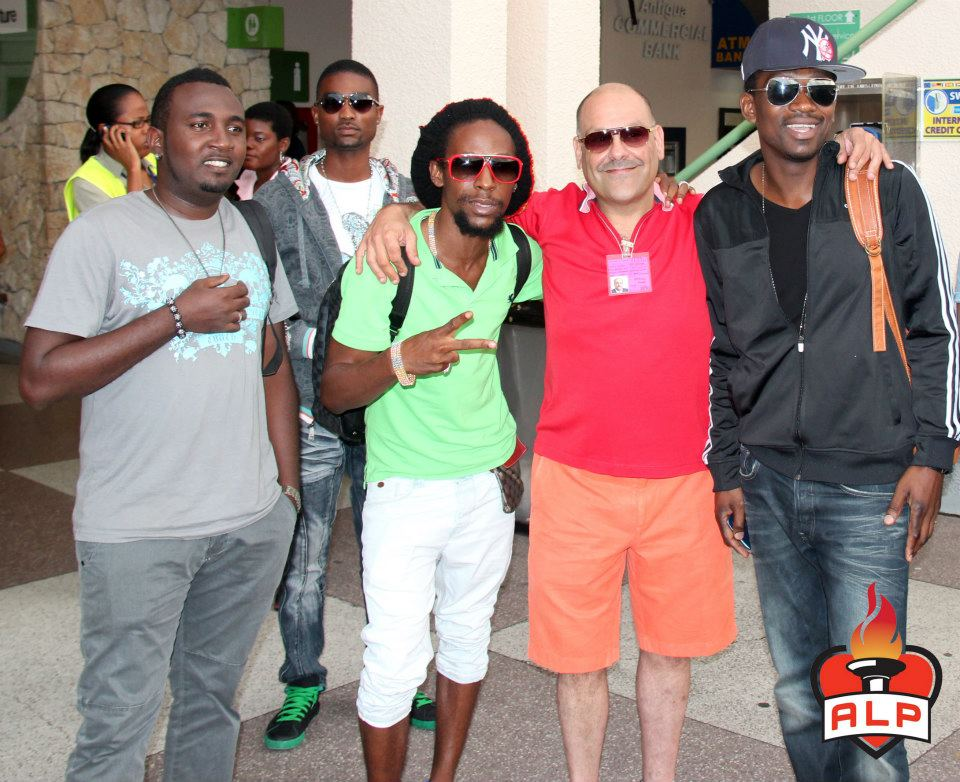 Busy Signal and Jah Cure in Antigua 3