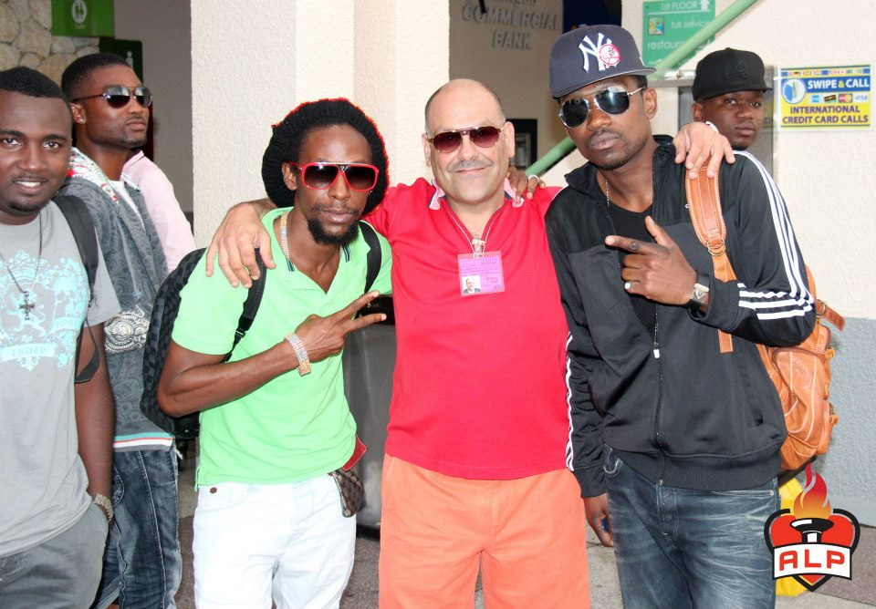 Busy Signal and Jah Cure in Antigua 4