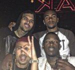 Chris Brown bday vegas 2