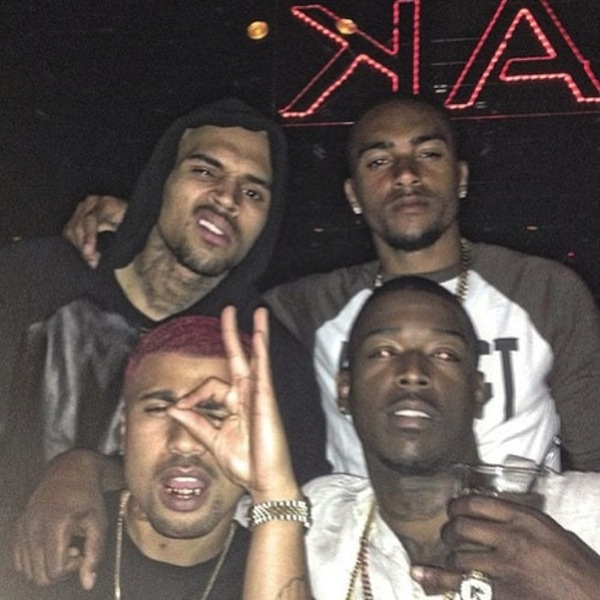 Chris Brown bday vegas 2