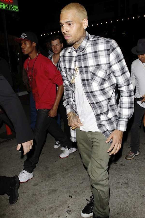Chris Brown birthday party 1