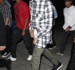 Chris Brown birthday party