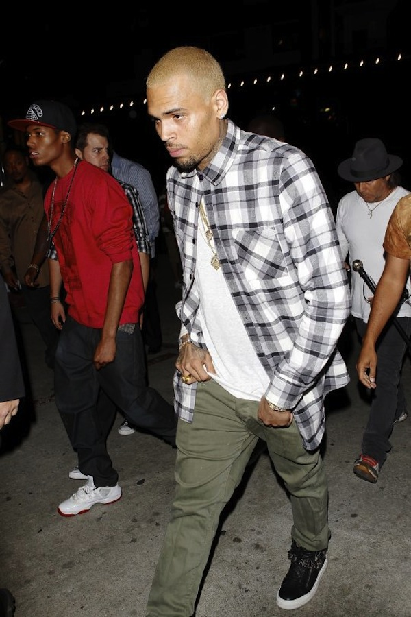 Chris Brown birthday party 2
