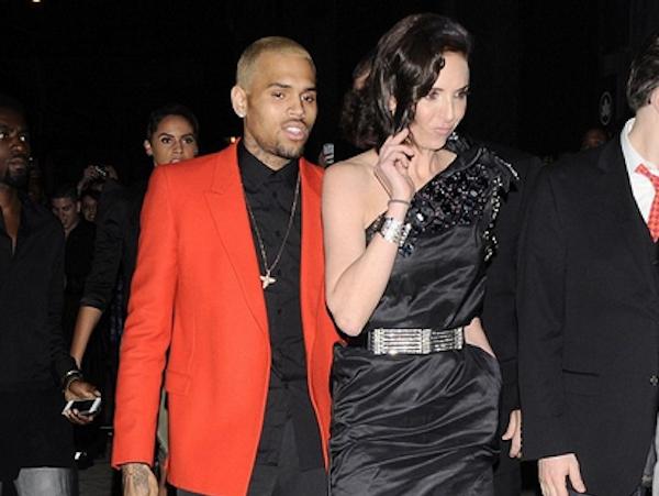Chris Brown new girl met gala 2013