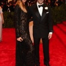 Joan Smalls and Tom Ford met gala 2013