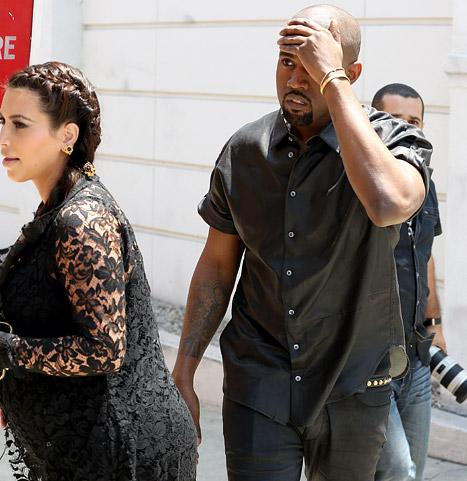 Kanye West bump head