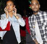 Karruche Tran and Chris Brown reunite