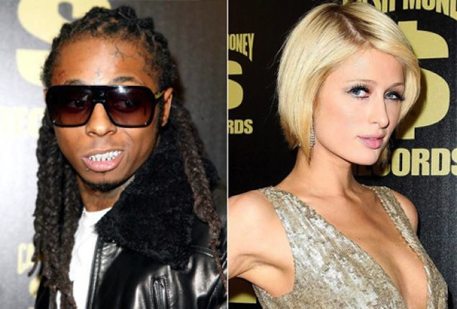 Lil Wayne and Paris Hilton