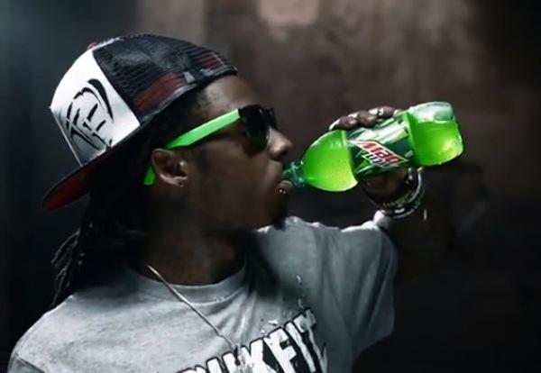 Lil Wayne mountain dew