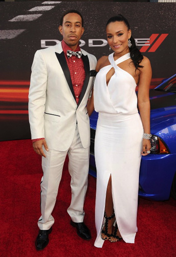 Ludacrus and  Eudoxie fast 6 premiere