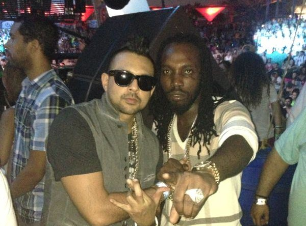 Mavado and Sean Paul at Ultra