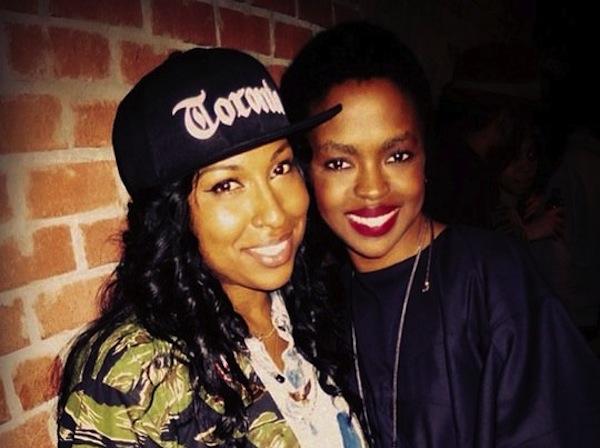 Melanie Fiona and Lauryn Hill