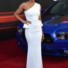 Michelle rodriguez fast furious premiere