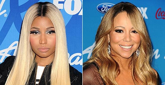 Minaj and Carey photo