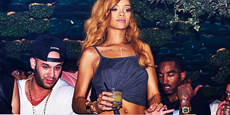 Rihanna JR Smith clubbing